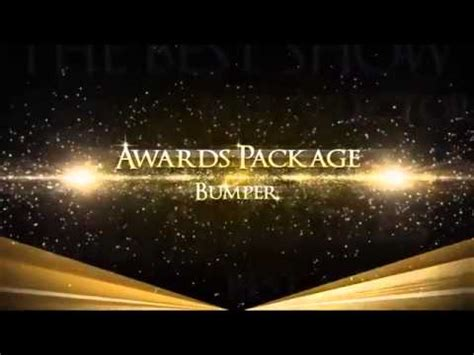 Awards Show Package Templates After Effects Youtube After Effects Awards Template