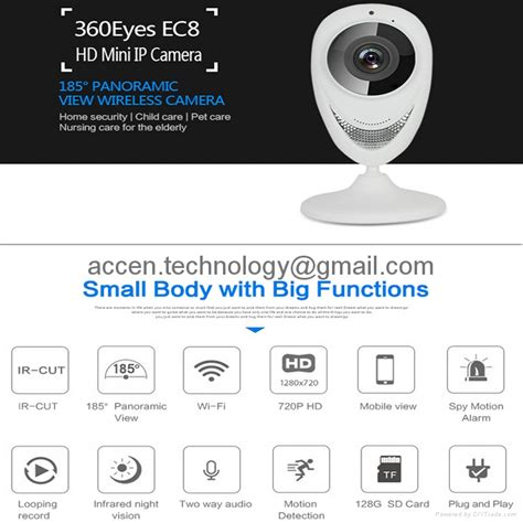 Ip Cctv Wifi P2p 180 Degree Gmc ip products diytrade china manufacturers suppliers directory