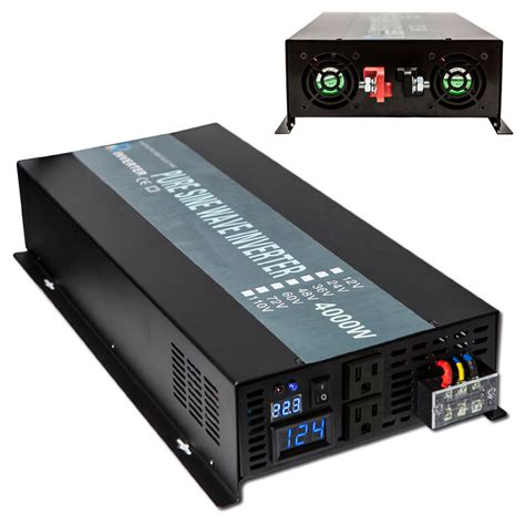 sine wave inverter 4000w power inverter 24v to 120v
