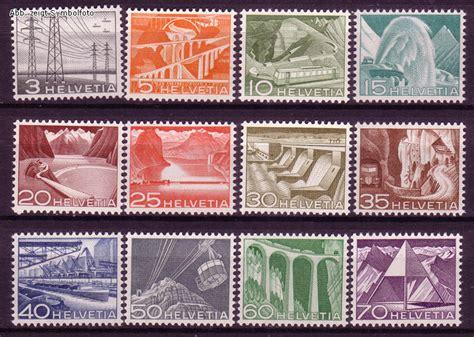 Schweiz Briefmarken Kaufen Briefmarken Schweiz Michel Nr 529 540 Landschaften 1949 Postfrisch G 252 Nstig Kaufen Im