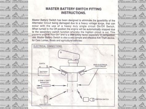battery cut fia master switch wired to kill switch