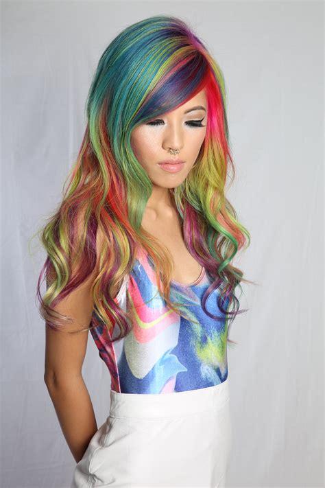 pravana vivids locked in hair how to plus pravana locked in rainbow hair