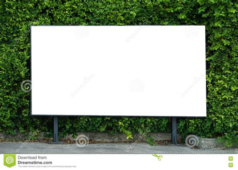 billboard template blank billboard mockup template for advertisement present