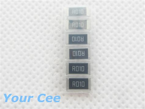 R Resistor 1w 1watt 5r6 6r8 8r2 10r 12r 15r 56 68 82 10 12 15 Ohm 50 Pcs 2512 Smd Resistor 1w 0 01r 1 Chip Resistor 0 01