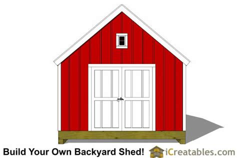 12x12 Shed Plans by 12x12 Cape Cod Garden Style Shed Plans