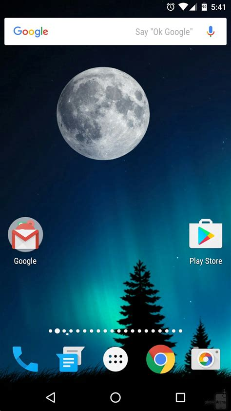 How to enable landscape mode on your Android phone's home