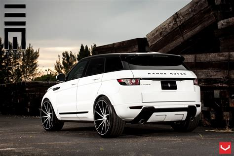 classy   range rover evoque put  custom wheels