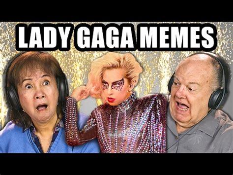 Lady Gaga Memes - elders react to lady gaga memes super bowl halftime show