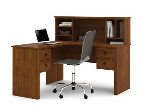 L Shaped Desk With Hutch Walmart Somerville L Shaped Desk With Hutch In Tuscany Brown Walmart Ca