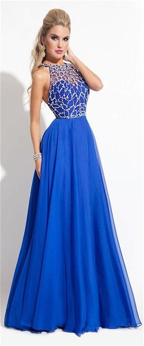 7 Most Amazing Dresses From Chicstarcom by Best 25 Royal Blue Prom Dresses Ideas On