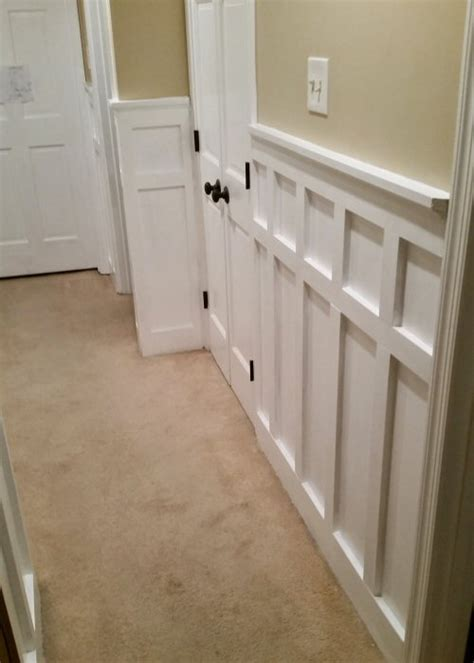 batten board wainscoting how to install board and batten wainscoting white painted