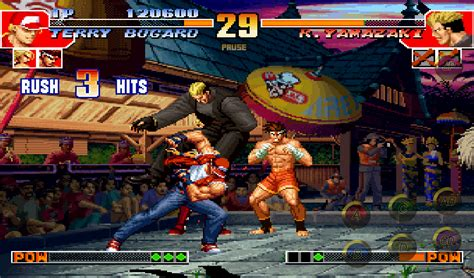 kof 97 apk el cl 225 sico the king of fighters 97 para android apk