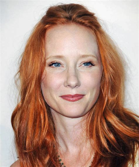 anne heche hairstyles anne heche long wavy casual hairstyle