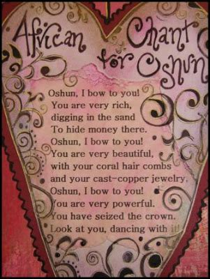 love spells african chant for oshun