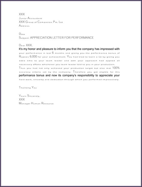 thank you letter to boss 9 free word excel pdf format download