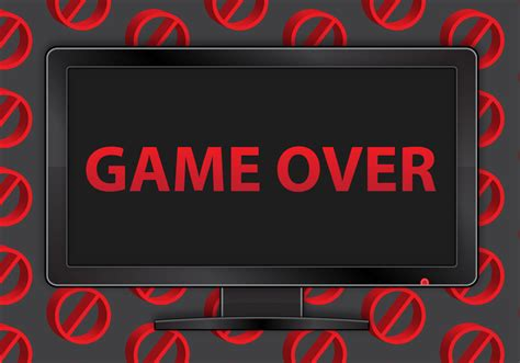 free download mod game vector free game over tv vector download free vector art stock