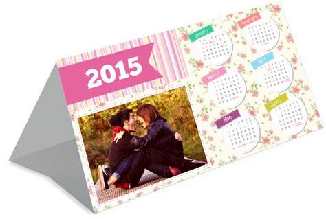 Calendario De Mesa Calend 225 De Mesa Personalizado 2015 Namorada Criativa