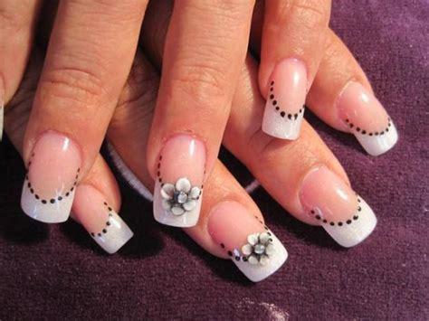 imagenes uñas decoradas punta blanca pin by u 241 as maguita on u 241 as maguita pinterest