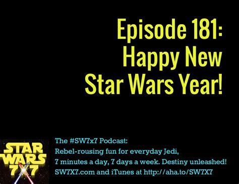 star wars year by 181 happy new star wars year star wars 7x7