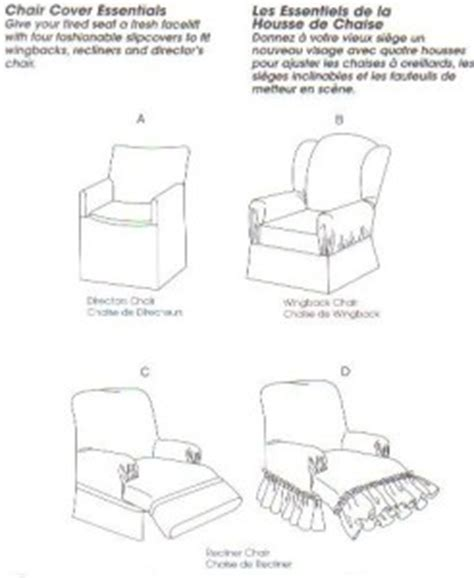 wing chair recliner slipcover pattern mccall s sewing pattern 4069 chair slip cover wingback