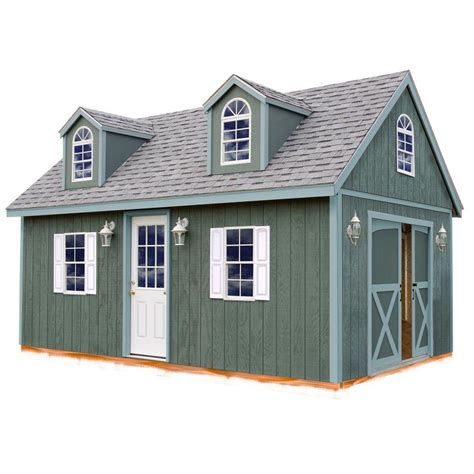 barns arlington  ft   ft wood storage shed kit