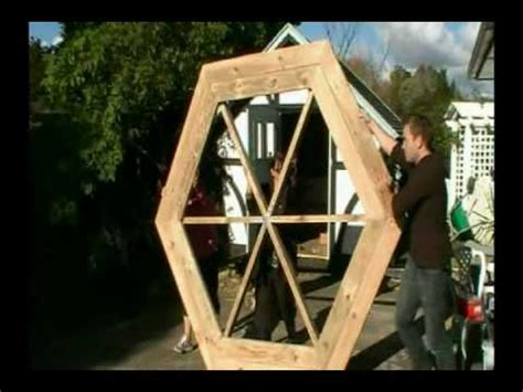 build  hexagonal picnic table youtube