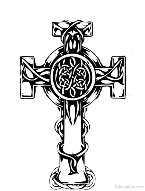 celtic cross tattoo design celtic tattoos designs pictures page 3