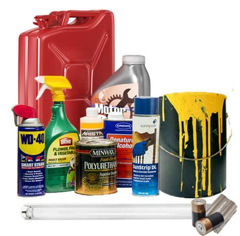 hazardous household products hhw reworks