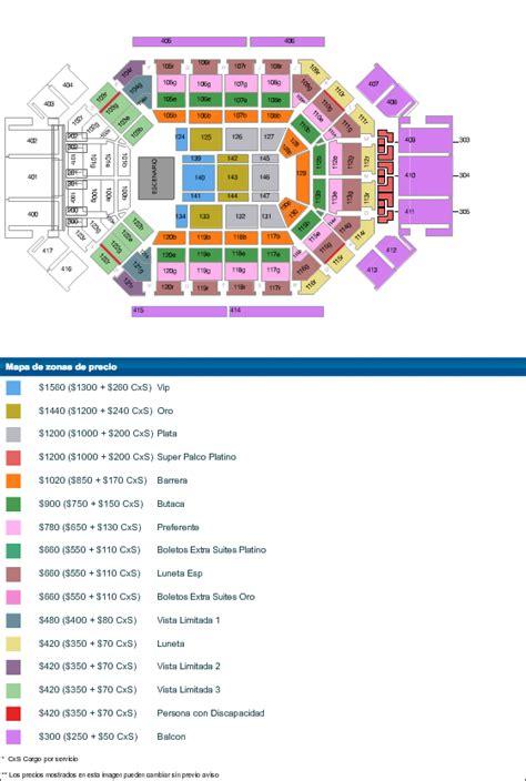 Calendario Arena Monterrey Detalle Evento