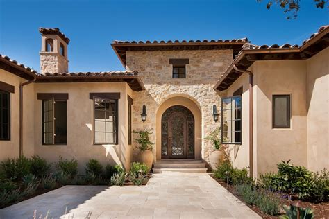 home plans exterior mediterranean with stucco siding beige stucco siding exterior mediterranean with stone