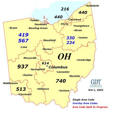 Ohio Area Codes Map by Callingadvice Com Make Ohio Phone Calls Cheap Includes