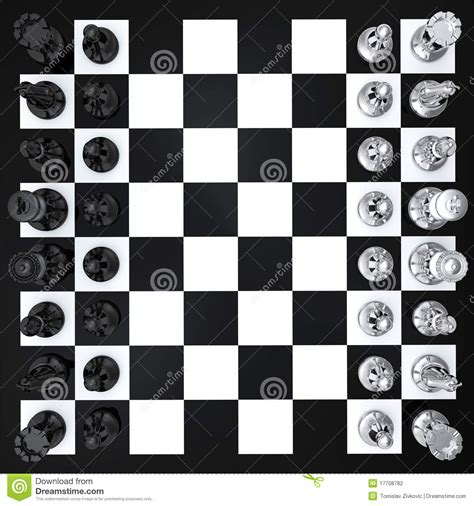 Chess Top chess top view stock photography image 17708782