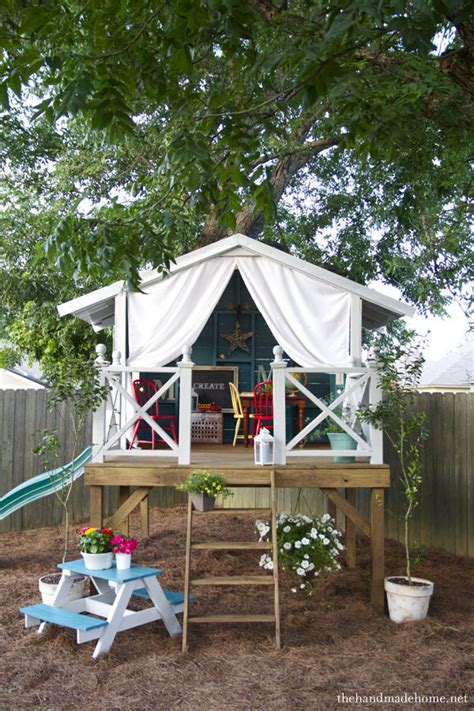 Bungalow Backyard by Diy Outdoor Playset Projects The Garden Glove
