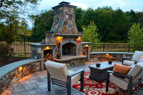 outdoor living areas with fireplaces stonefire outdoor living