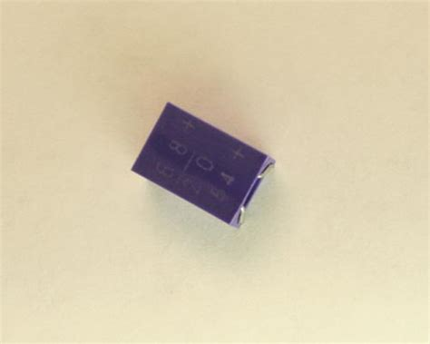 surface mount electrolytic capacitor cu1d680mbbang sanyo capacitor 68uf 20v aluminum electrolytic surface mount 2020024748