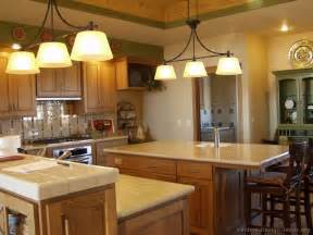 Kitchen Remodel Ideas With Oak Cabinets Pictures Of Kitchens Traditional Medium Wood Cabinets
