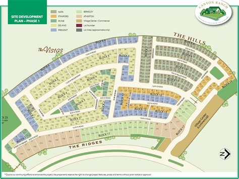 sle site plan real estate home lot sale at canyon ranch site development