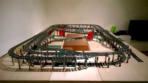 youtube lego layout my lego train layout first test drive youtube