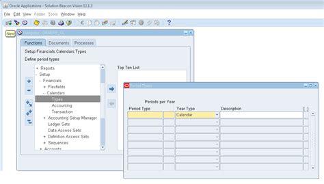 Define Calendar Year How To Define Calendar In Oracle Ebs R12