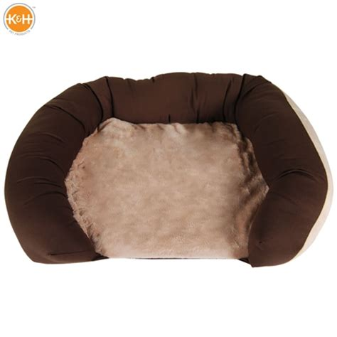 K H Thermo Heated Cat Bed by K H Heated Thermo Bolster Pet Bed Medium Sales