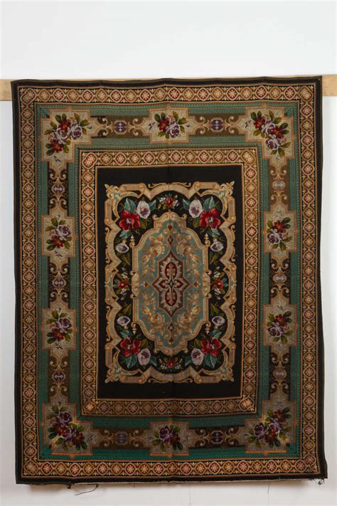 needlepoint rugs needlepoint rug for sale at 1stdibs