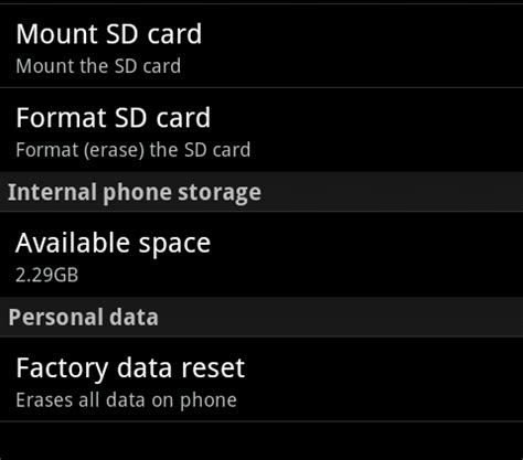 reset android with sd card what should i do with my phone before i sell it gizmodo