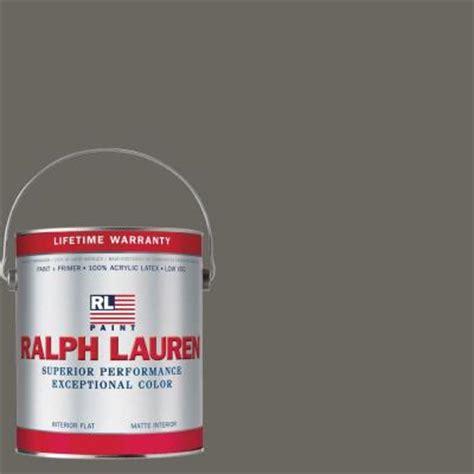 ralph lauren depot ralph 1 gal mercer flat interior paint rl1167f the home depot