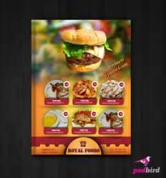 Free Psd Menu Templates by Free Restaurant Hotel Menu Template By Psdbird Templatix