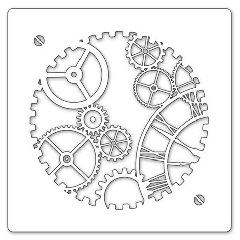 printable clock gears 25 best ideas about clock face printable on pinterest