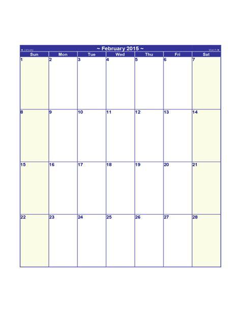 Blank 2015 Calendar Blank 2015 Calendar Free