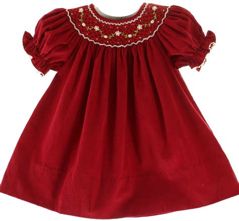 red christmas dresses for infants evening wear