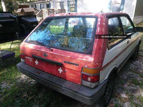 how to fix cars 1992 subaru justy seat position control service manual how to fix cars 1993 subaru justy interior lighting subaru justy 3 doors