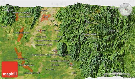 satellite  map  ipoh