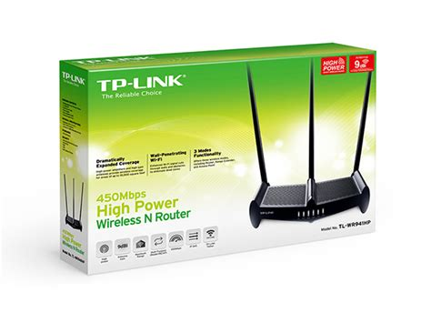 Tl Wr941hp by Tl Wr941hp 450mbps High Power Wireless N Router Tp